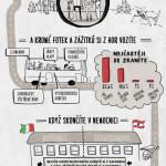 Úrazy na horách v cizině – infografika