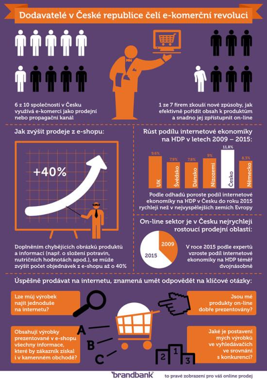 E-komerční revoluce - infografika