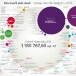 Kde končí peníze daňových poplatníků – infografika
