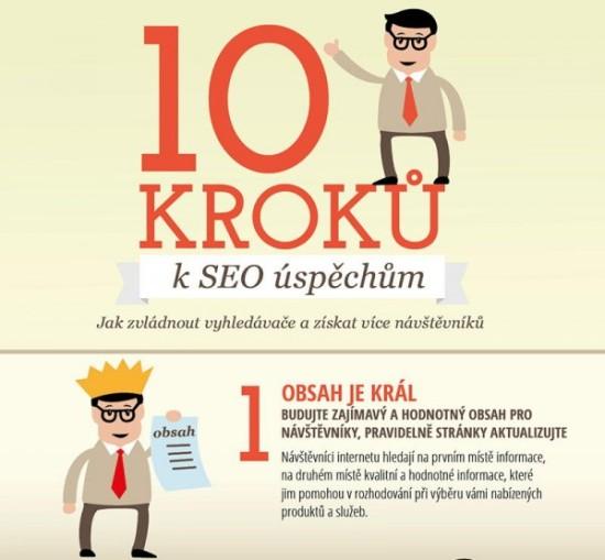 10 kroků k SEO úspěchům - náhled