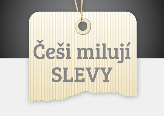 Češi milují slevy - náhled