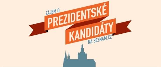 Zájem o prezidentské kandidáty na seznam.cz - náhled