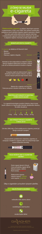 Z ceho se sklada e-cigareta - infografika