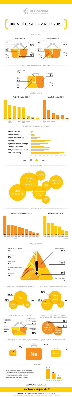 Infografika Jak vidí e-shopy 2015