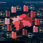 Kam zajít v Praze posedět? – Infografika