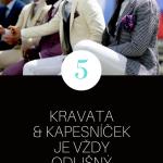 10 pravidel správného nošení obleku – Infografika