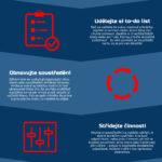 6 rituálů pro produktivitu a soustředění – Infografika