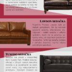 Jaký design sedačky je ten pravý? – Infografika
