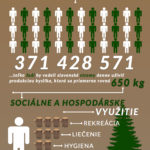 Poznejte krásy (a statistiky) slovenských lesů – Infografika