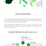 Co nám přinášejí lesy – infografika