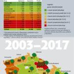 Kácení a sázení stromů v ČR – infografika