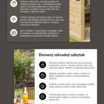 Jak se starat o dřevěný nábytek – infografika