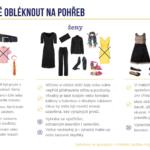 Jak se obléct na pohřeb – infografika
