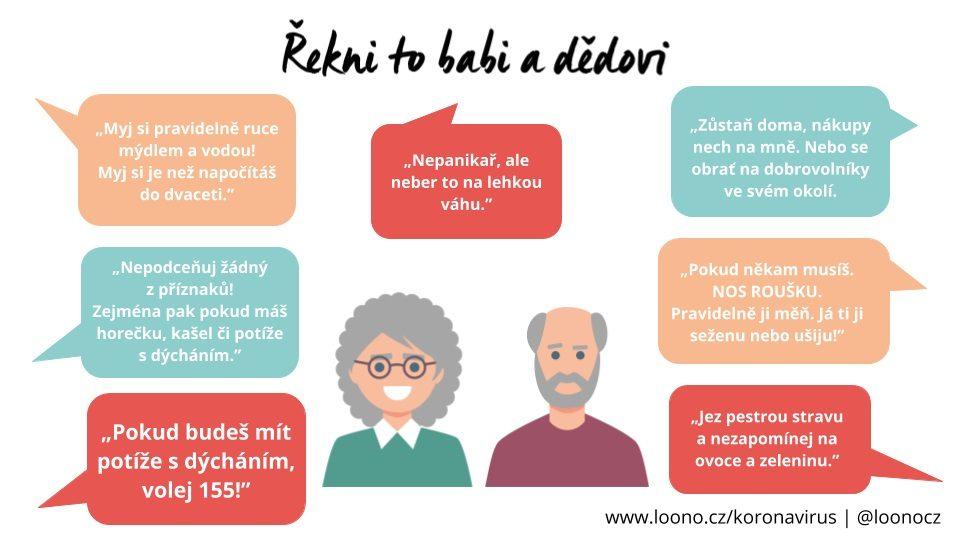 Malý návod na to, jaká doporučení dát svým prarodičům.